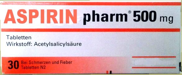 Aspirin gegenMigräne